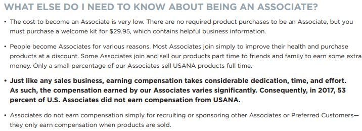 Is USANA a Scam? Why most USANA associates are not making